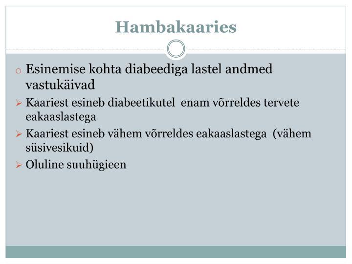 Hambakaaries