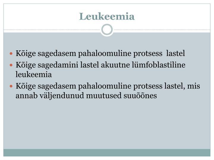 Leukeemia