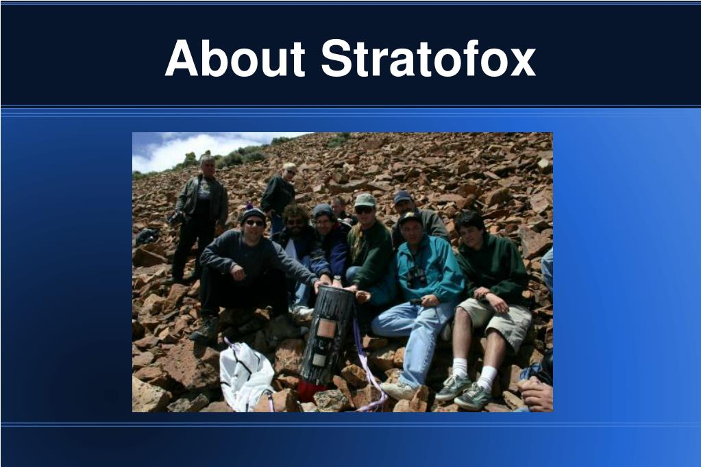 About Stratofox