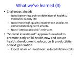 what we ve learned 3