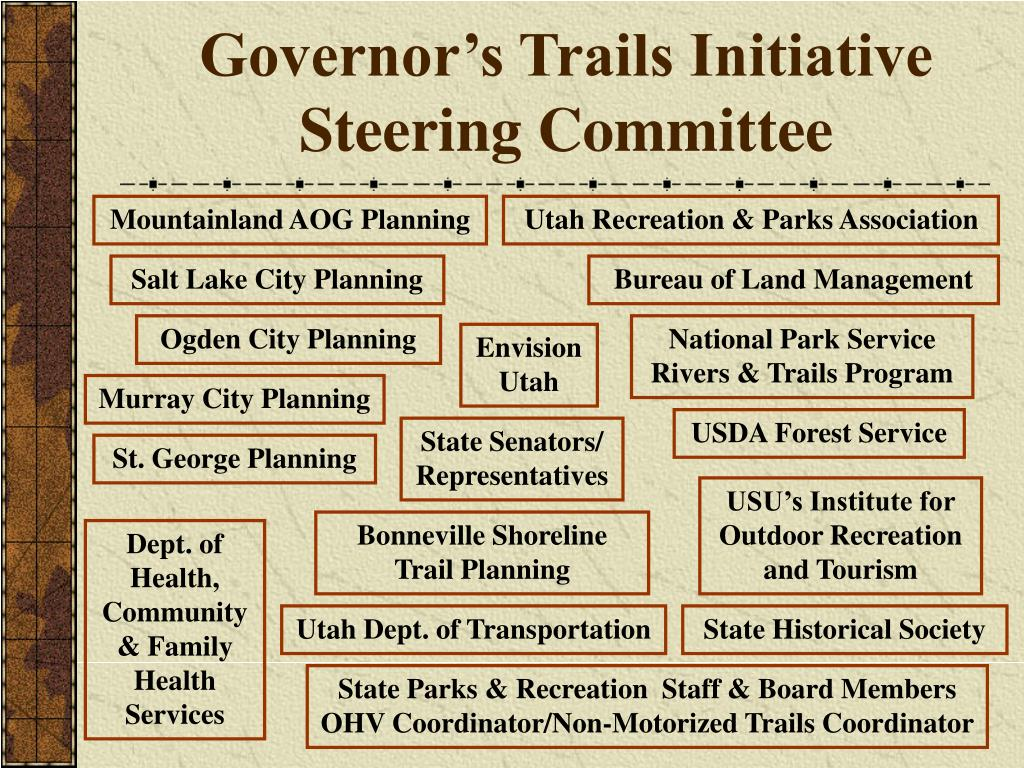 Governor's Trails Initiative Steering Committee
