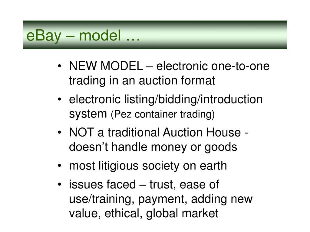 eBay – model …
