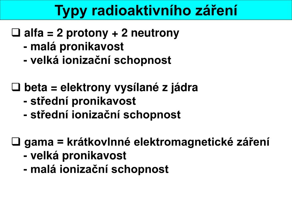 alfa = 2 protony + 2 neutrony
