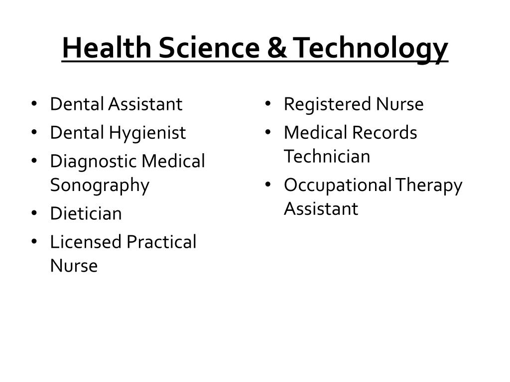 Health Science & Technology