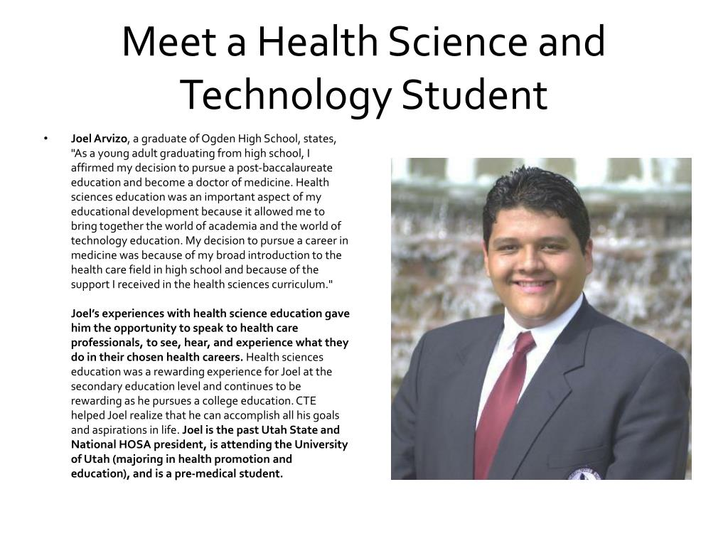 Meet a Health Science and Technology Student