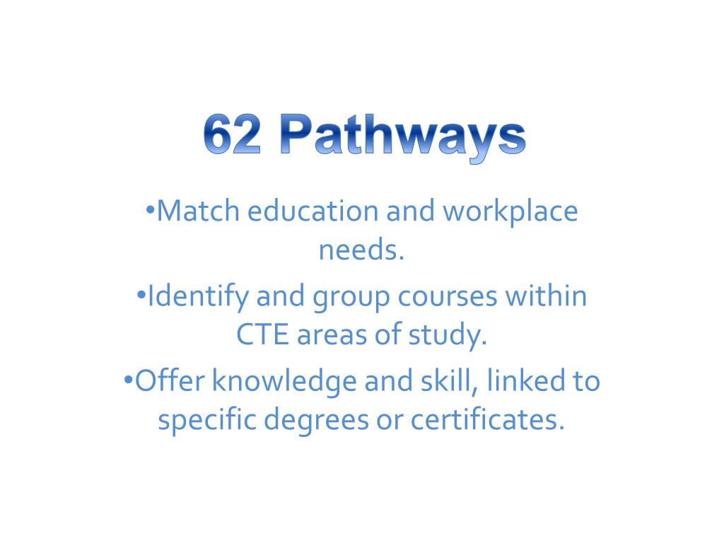 62 Pathways