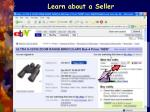 learn about a seller