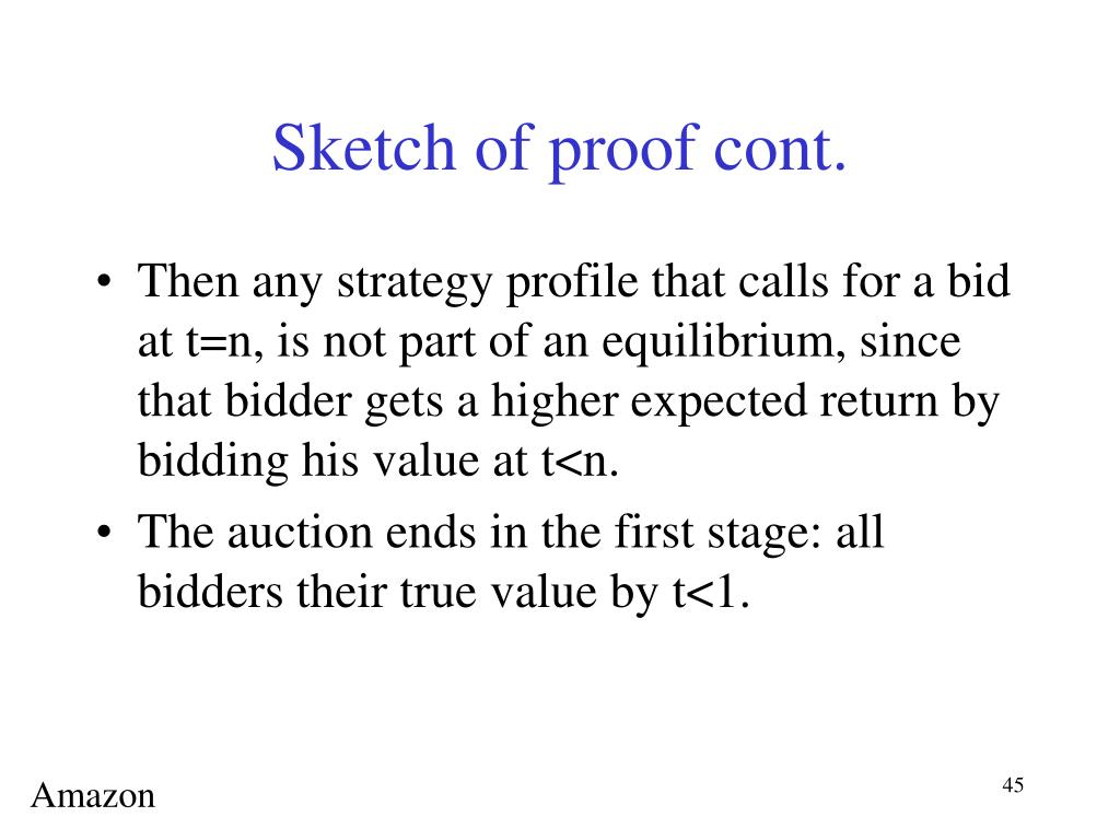 Sketch of proof cont.