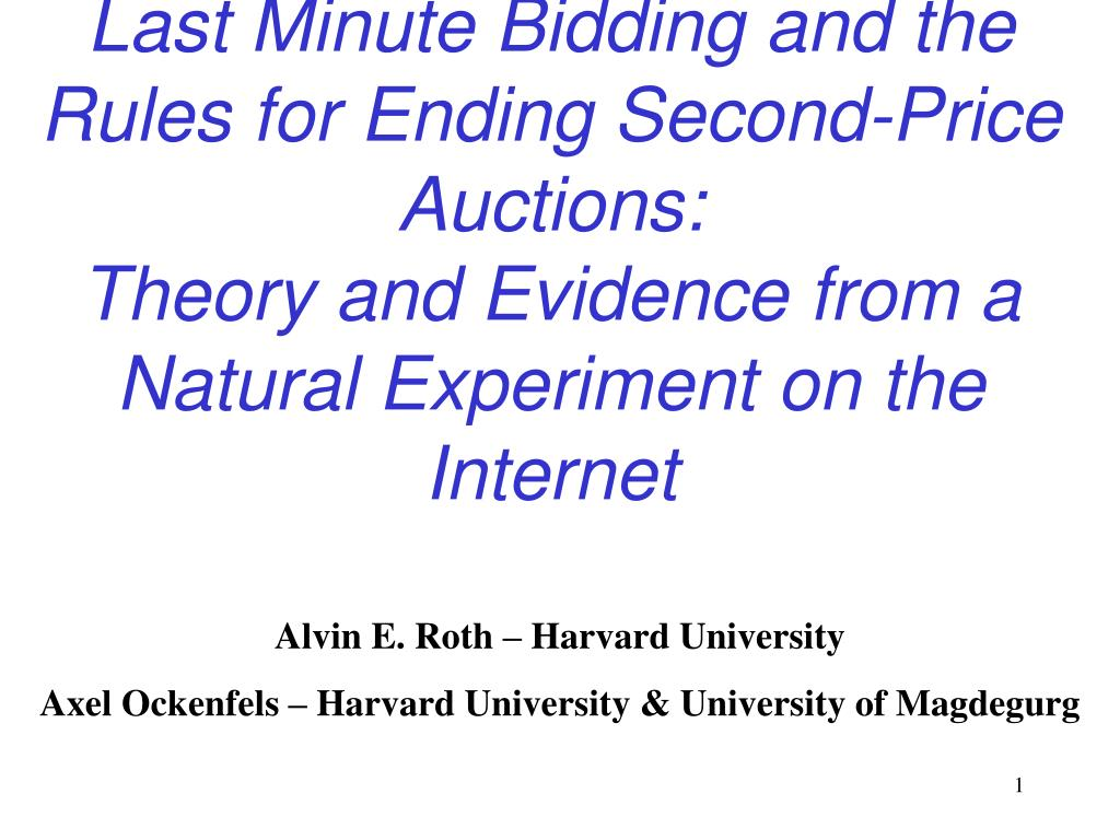 Last Minute Bidding and the Rules for Ending Second-Price Auctions: