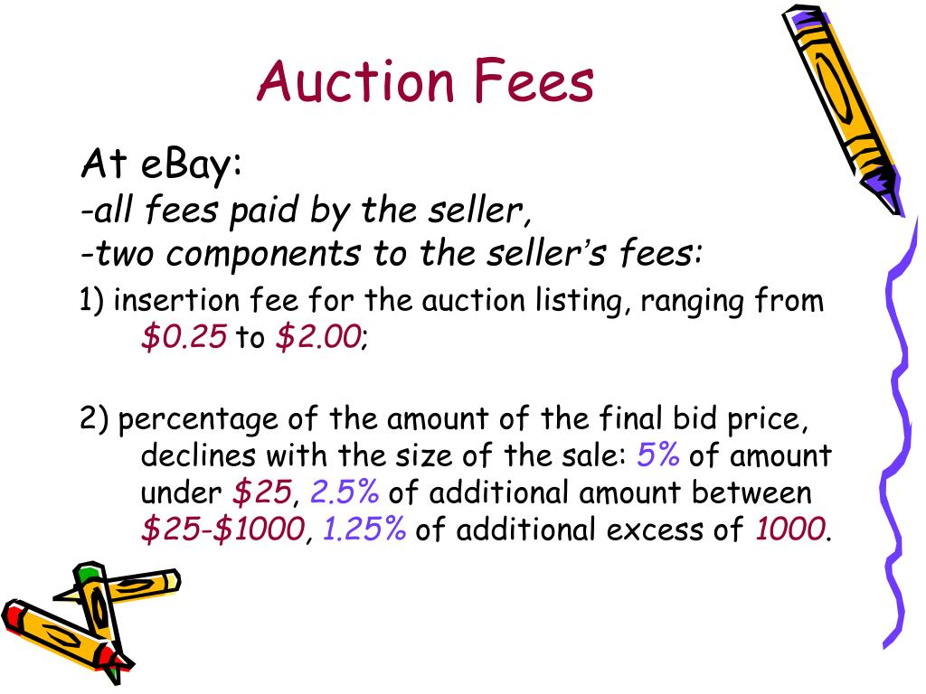 Auction Fees