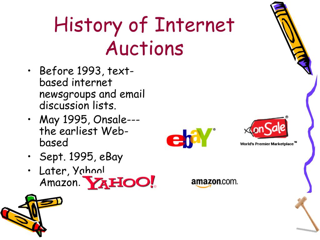 History of Internet Auctions