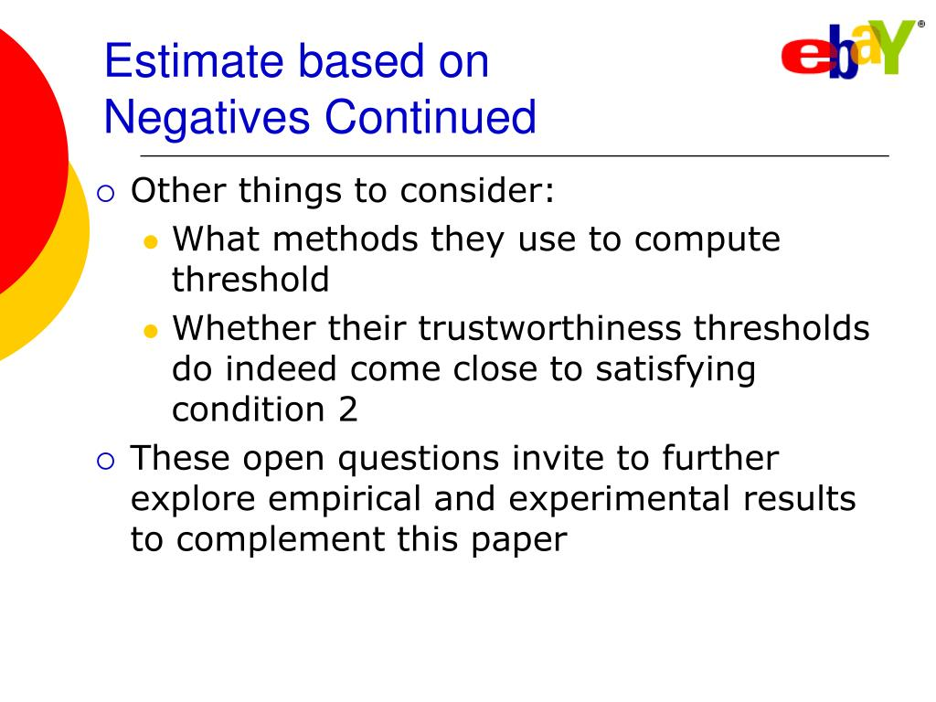 Estimate based on