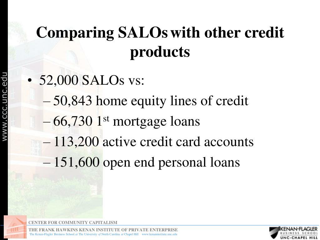 Comparing SALOs