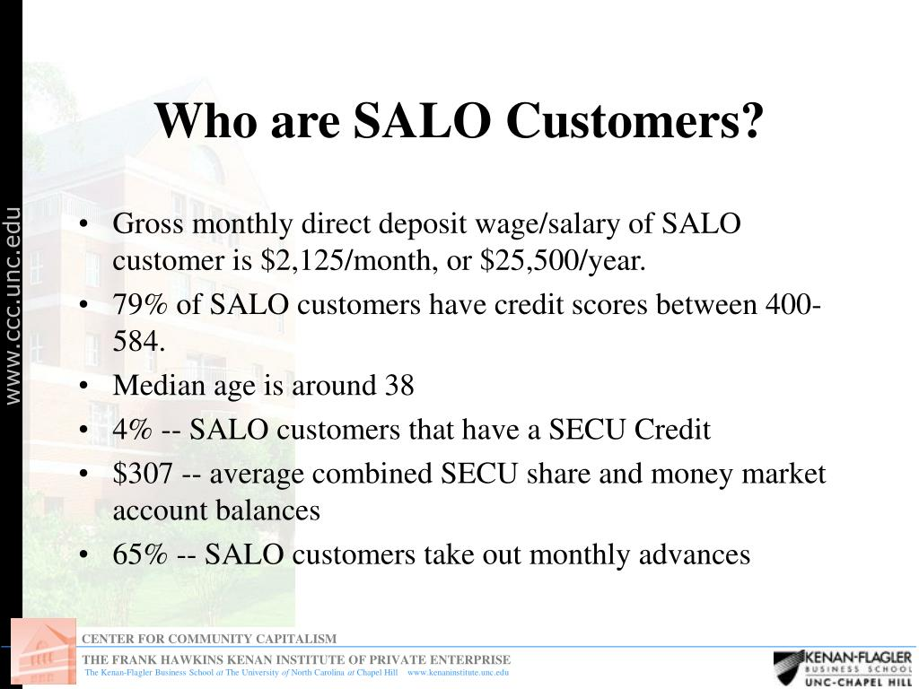 Who are SALO Customers?