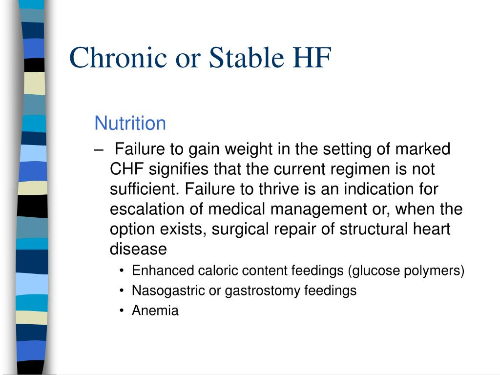 Chronic or Stable HF