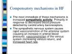 compensatory mechanisms in hf