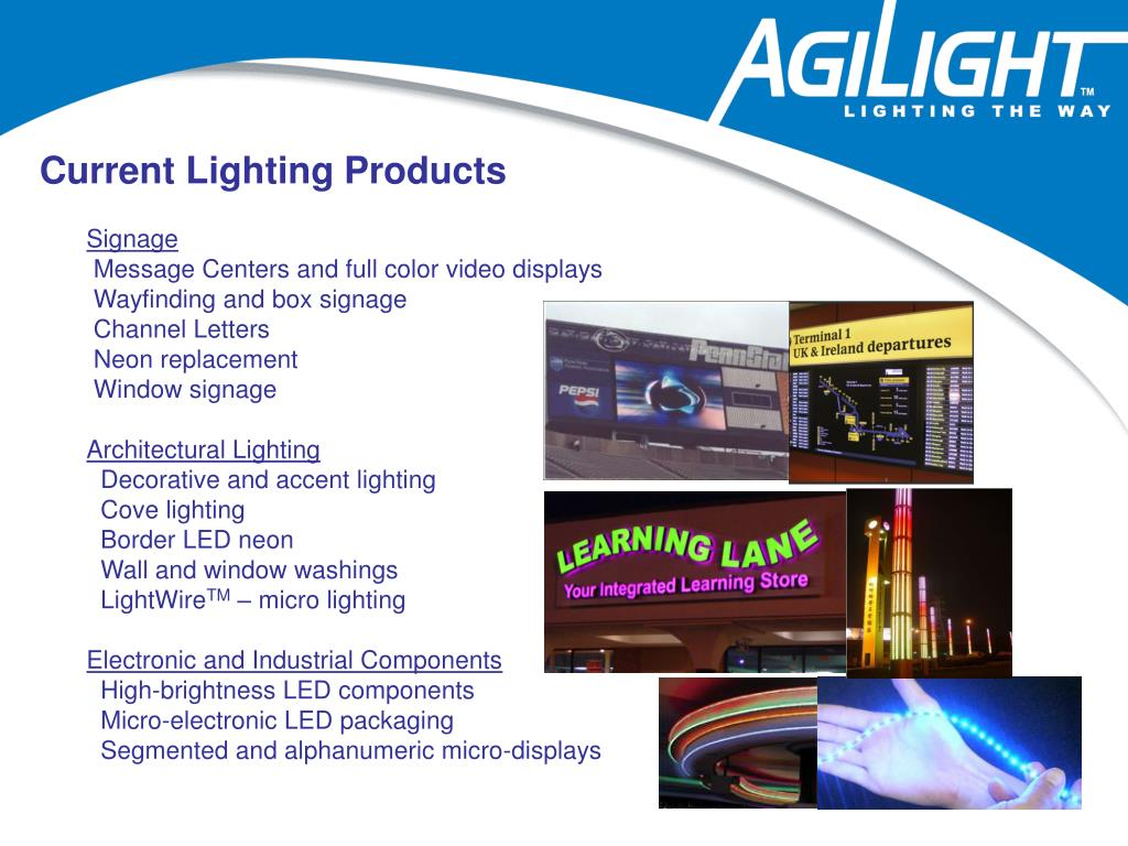 Current Lighting Products