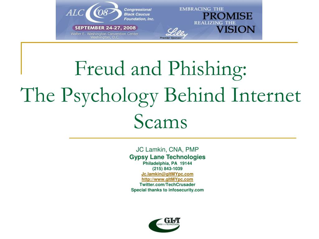 Freud and Phishing: