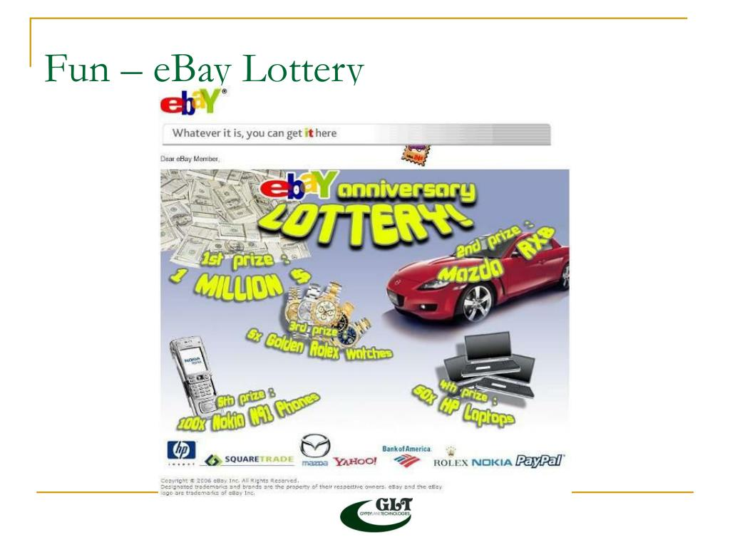 Fun – eBay Lottery