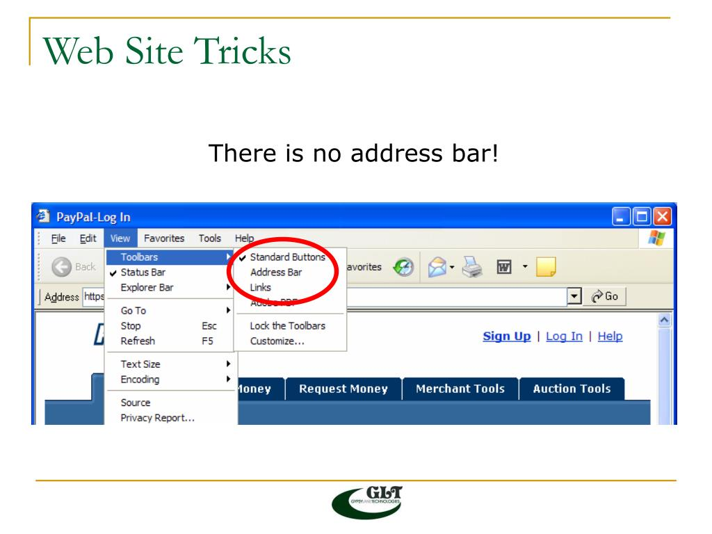 Web Site Tricks