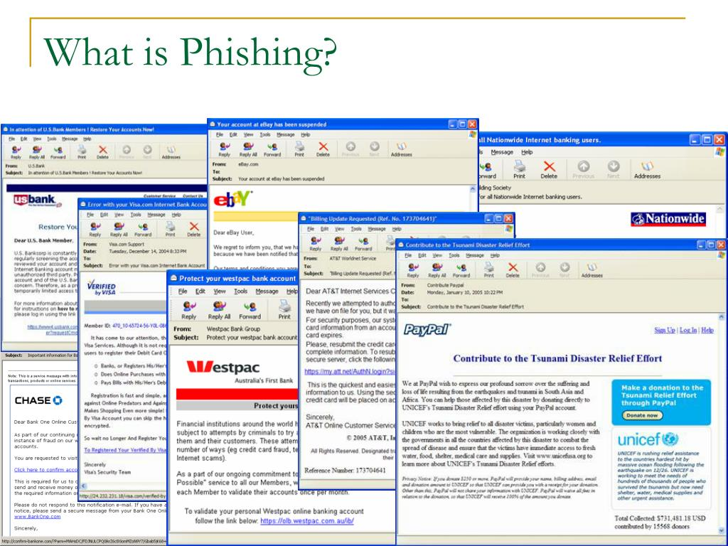 What is Phishing?