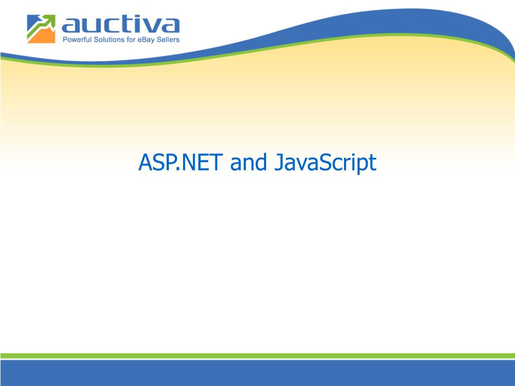 ASP.NET and JavaScript