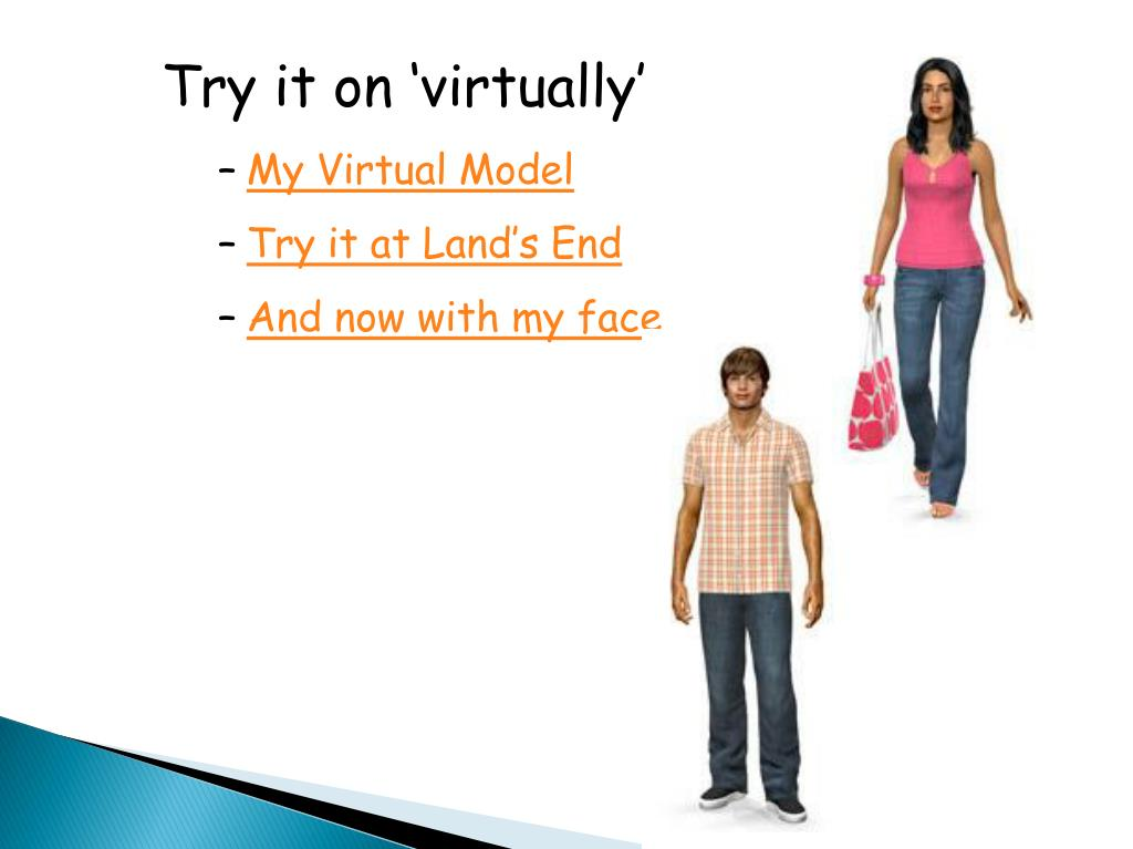 Try it on 'virtually'