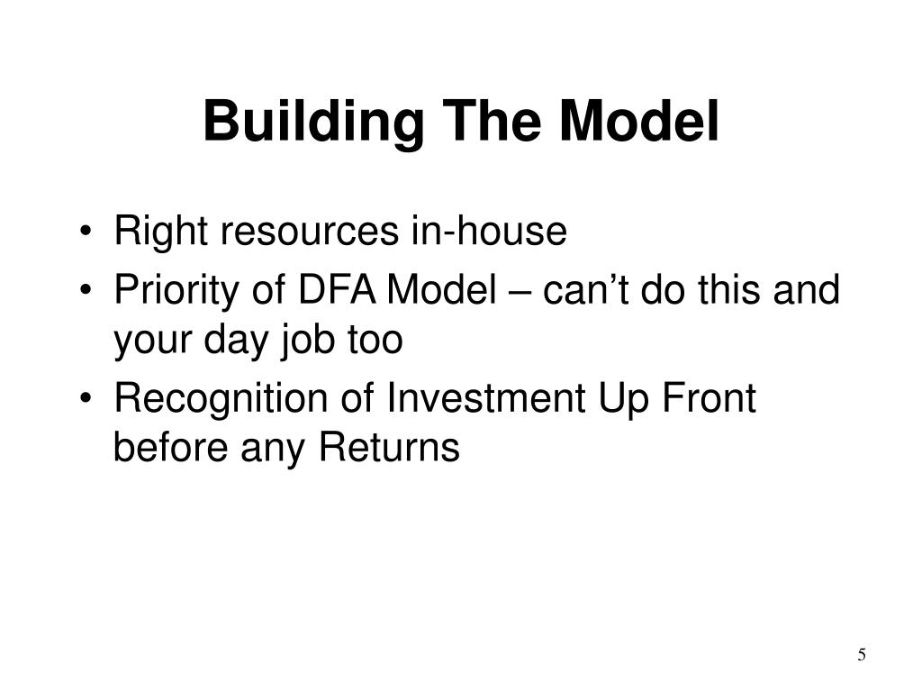 Building The Model