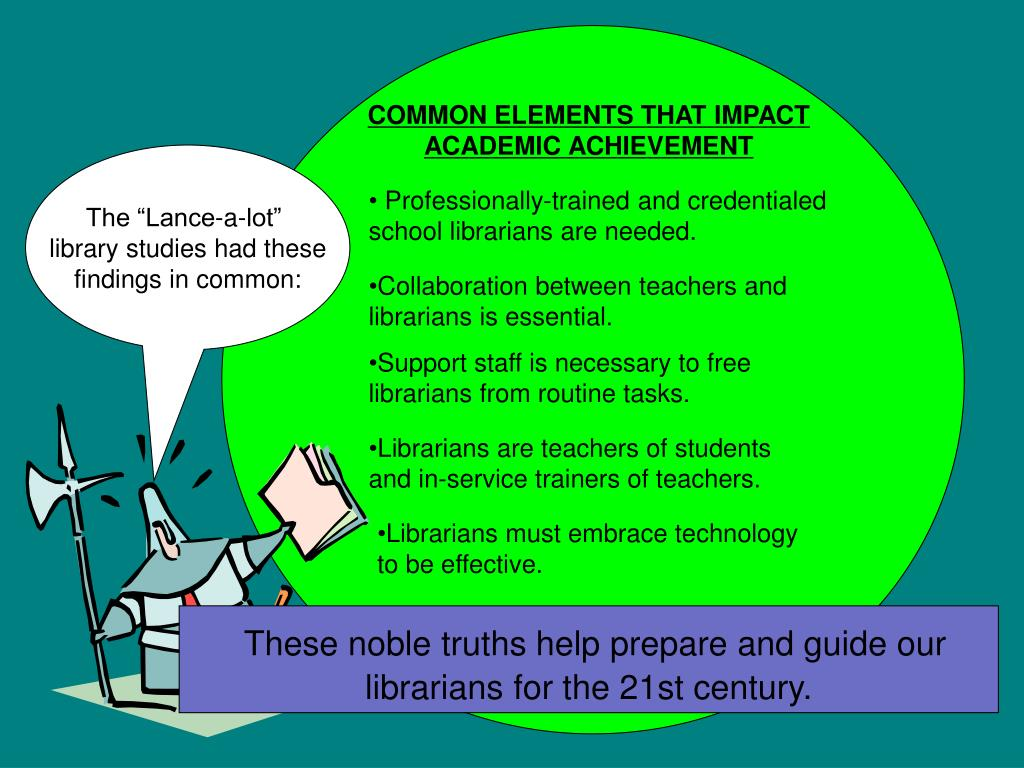 COMMON ELEMENTS THAT IMPACT ACADEMIC ACHIEVEMENT