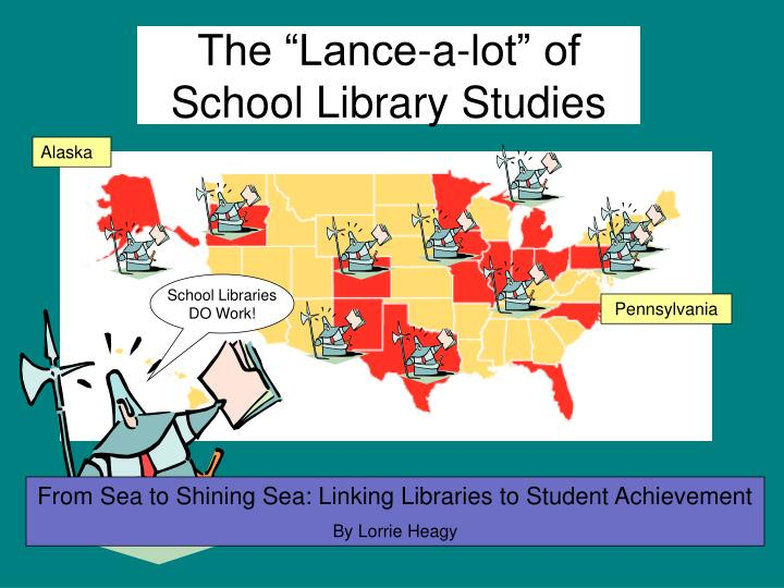 The lance a lot of school library studies l.jpg
