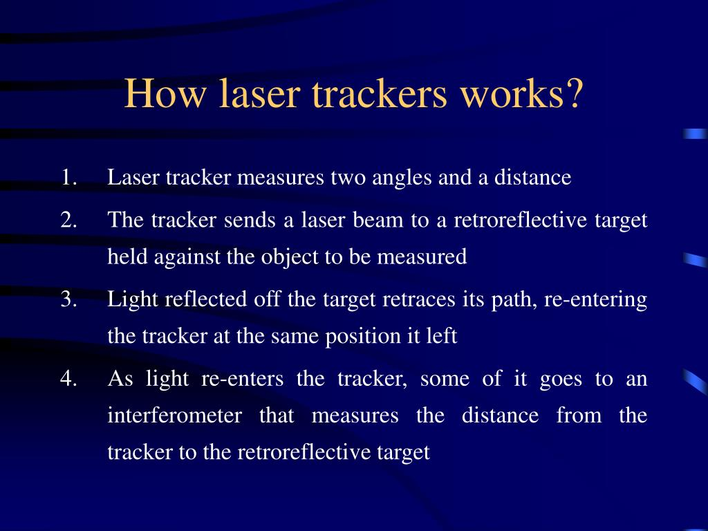 How laser trackers works?