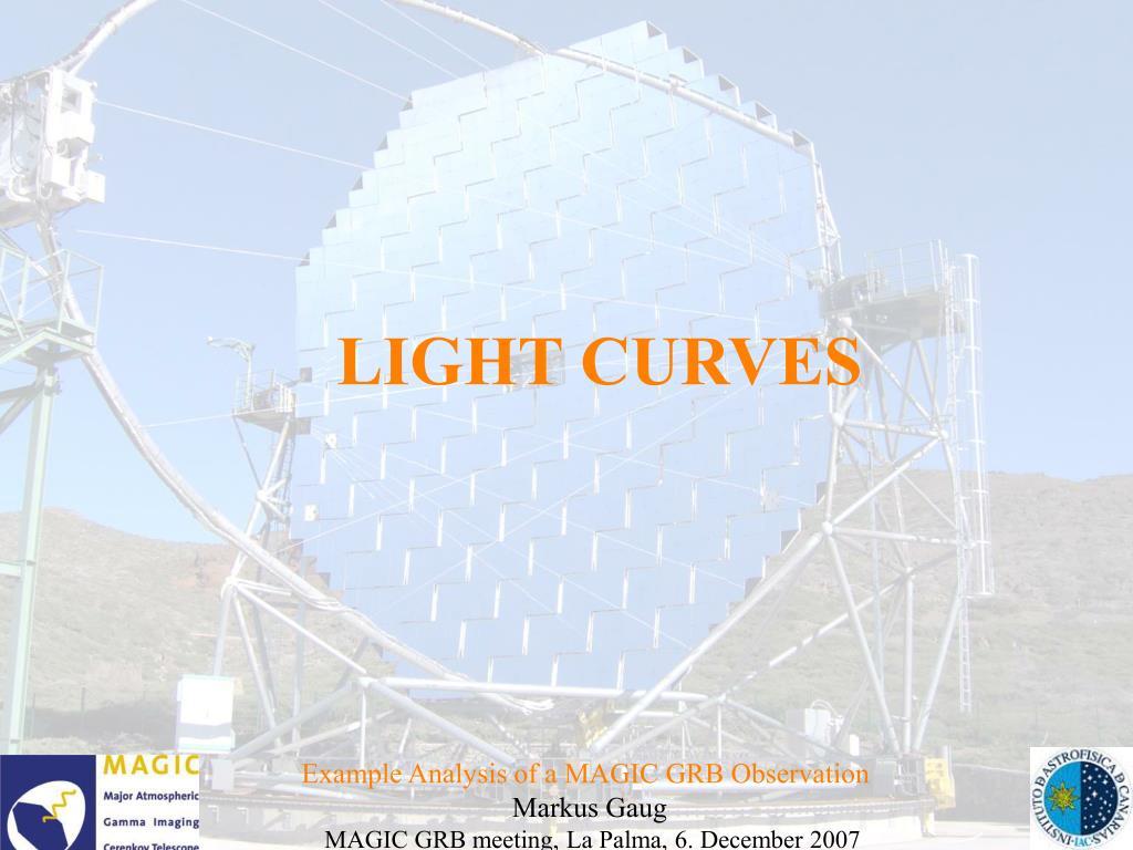 LIGHT CURVES