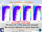 the melibea root files71