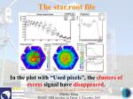 the star root file32