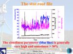 the star root file44