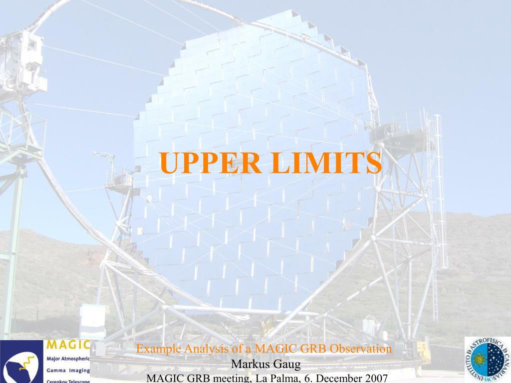 UPPER LIMITS