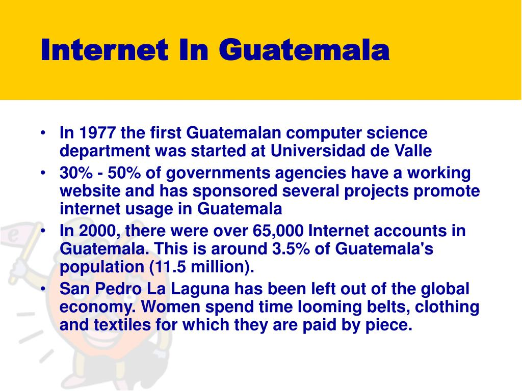 Internet In Guatemala