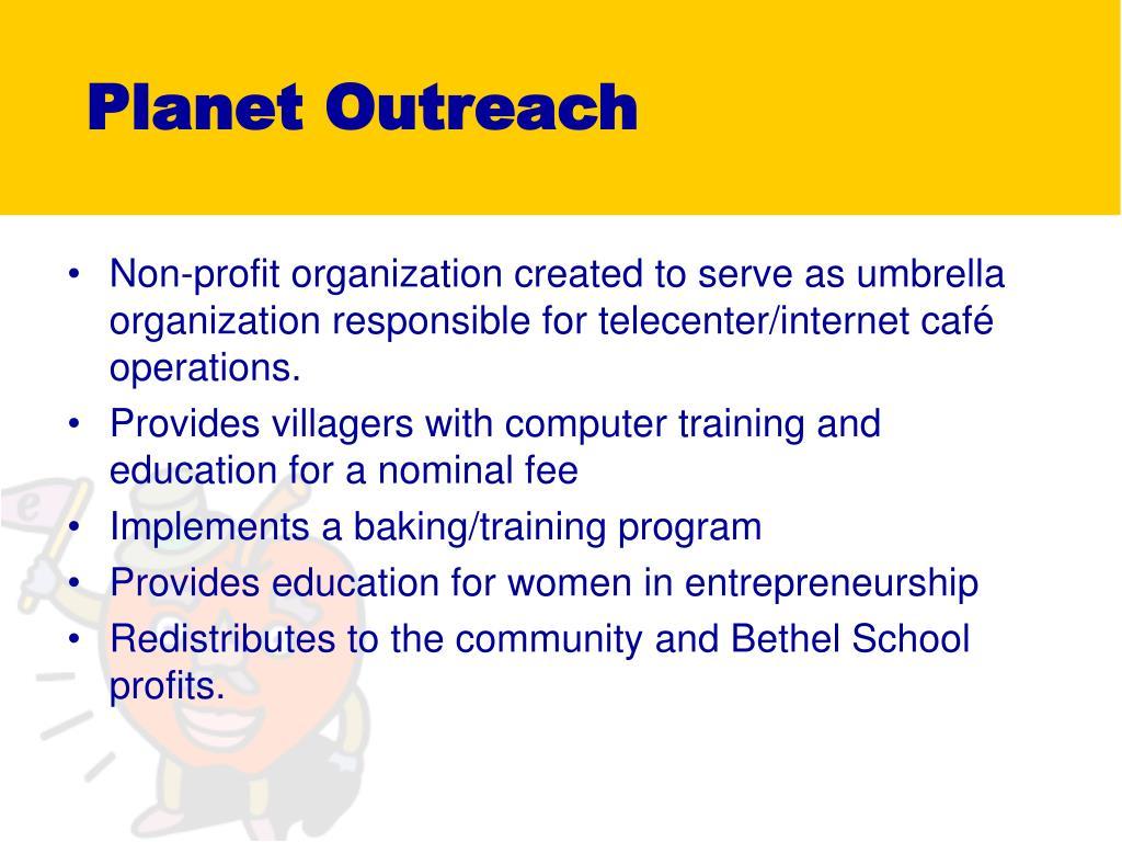Planet Outreach