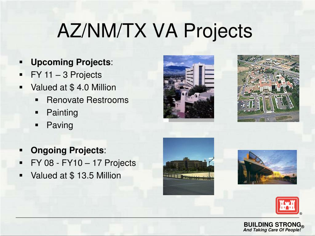 AZ/NM/TX VA Projects