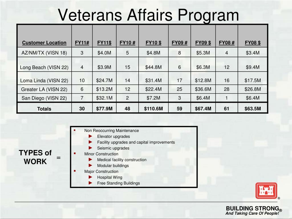 Veterans Affairs Program