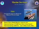 marine services vision benefits