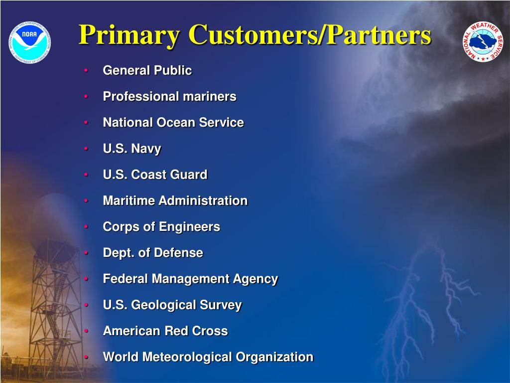 Primary Customers/Partners