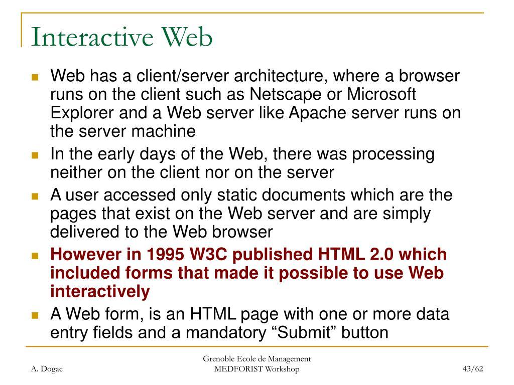 Interactive Web
