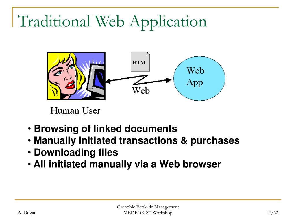 Traditional Web Application