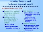 auction process and software support cont36