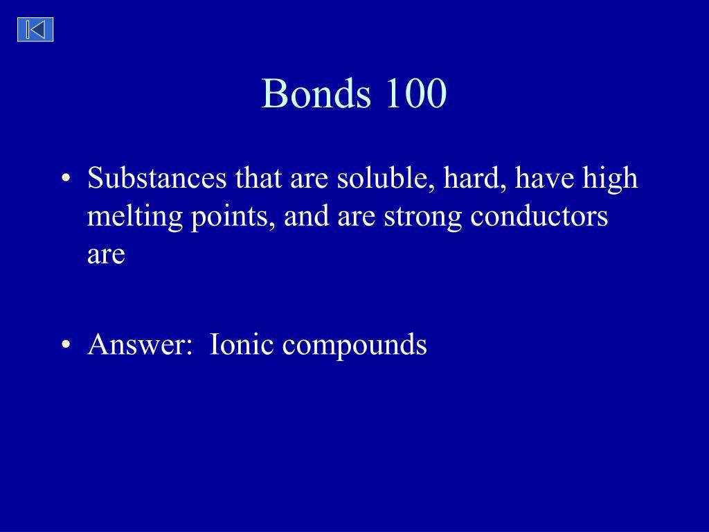 Bonds 100