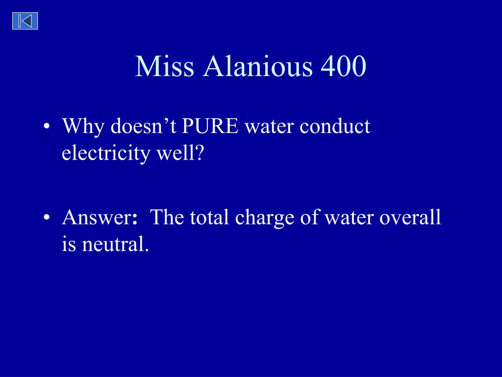 Miss Alanious 400