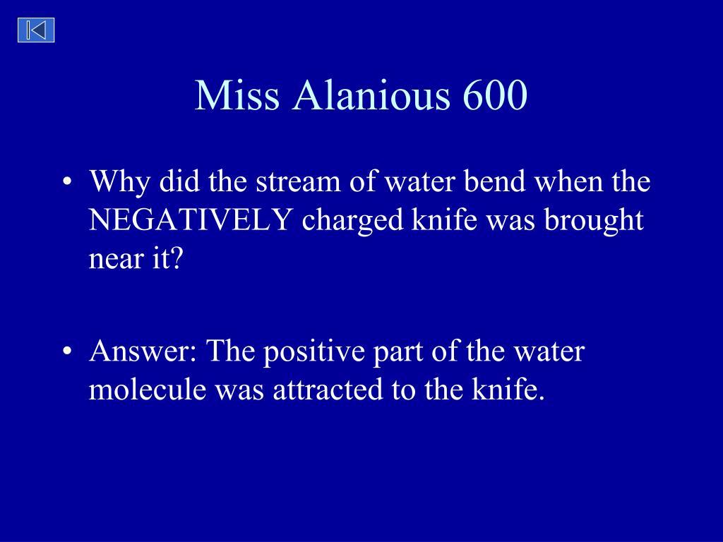 Miss Alanious 600