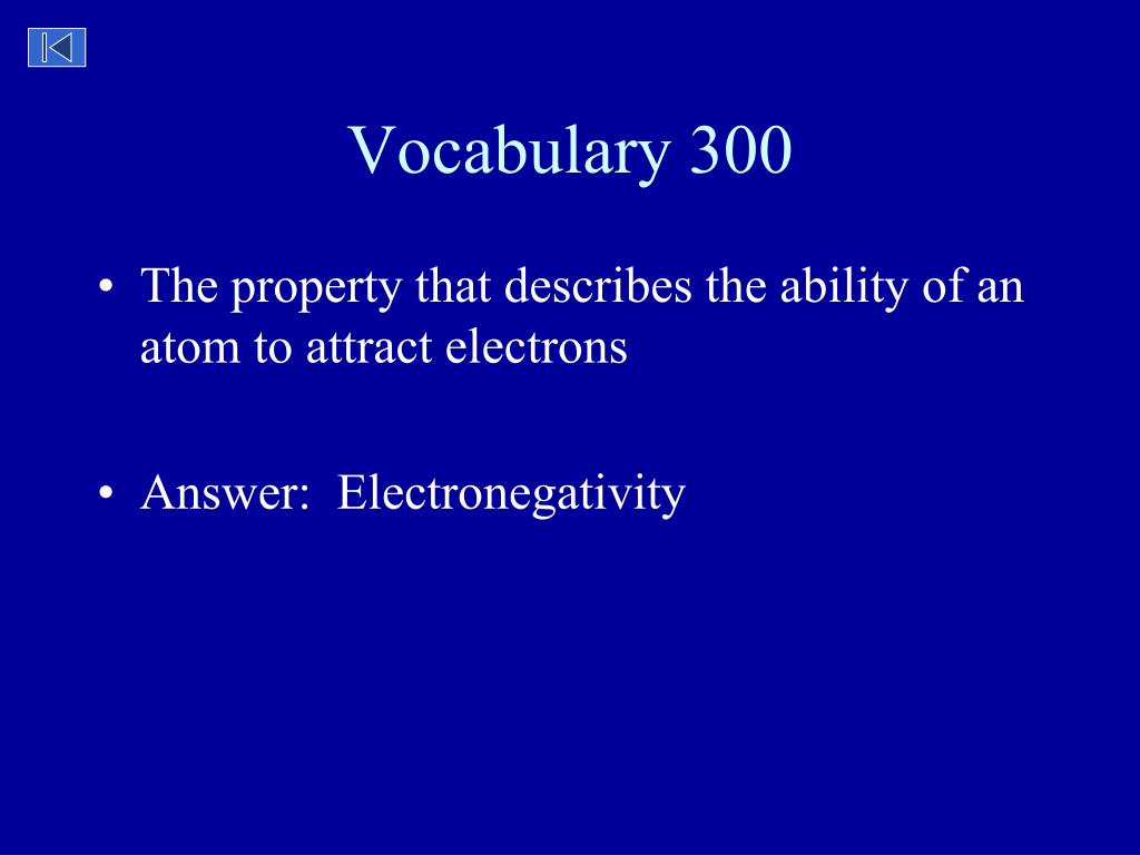 Vocabulary 300