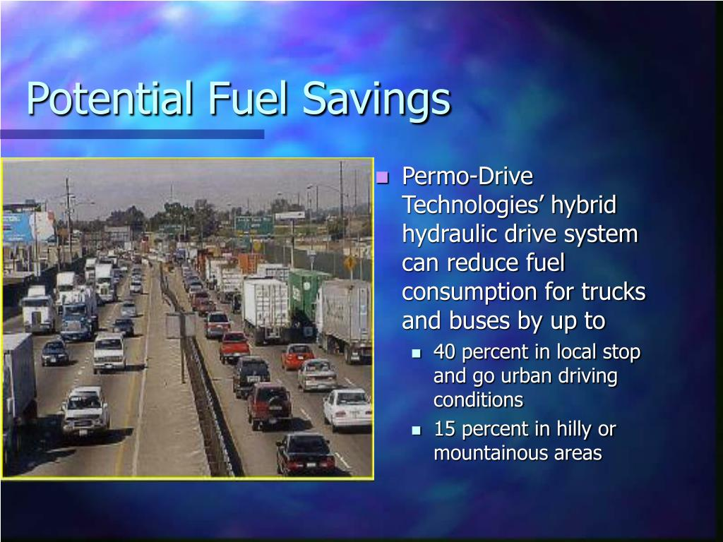 Potential Fuel Savings